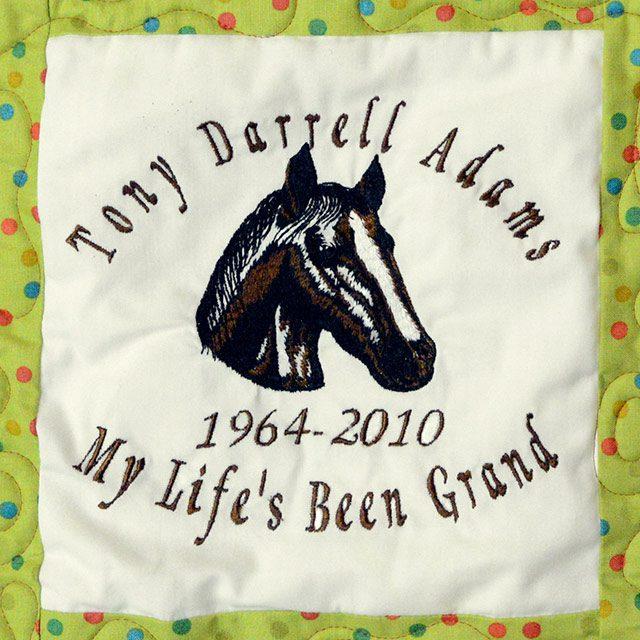 Adams, Tony Darrell