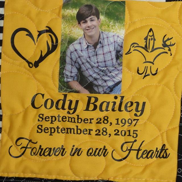 Bailey, Austin 'Cody'