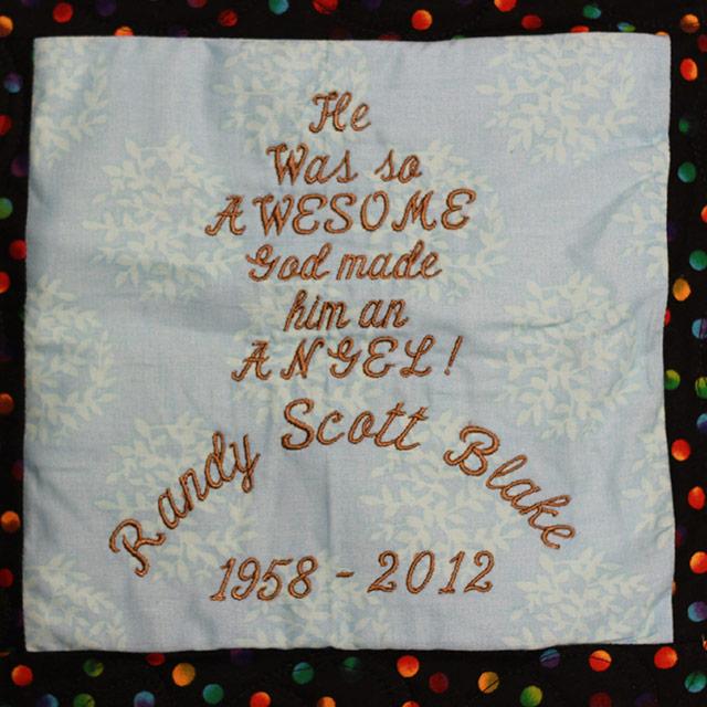 Blake, Randy Scott