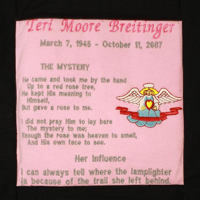 Breitinger, Teri Moore