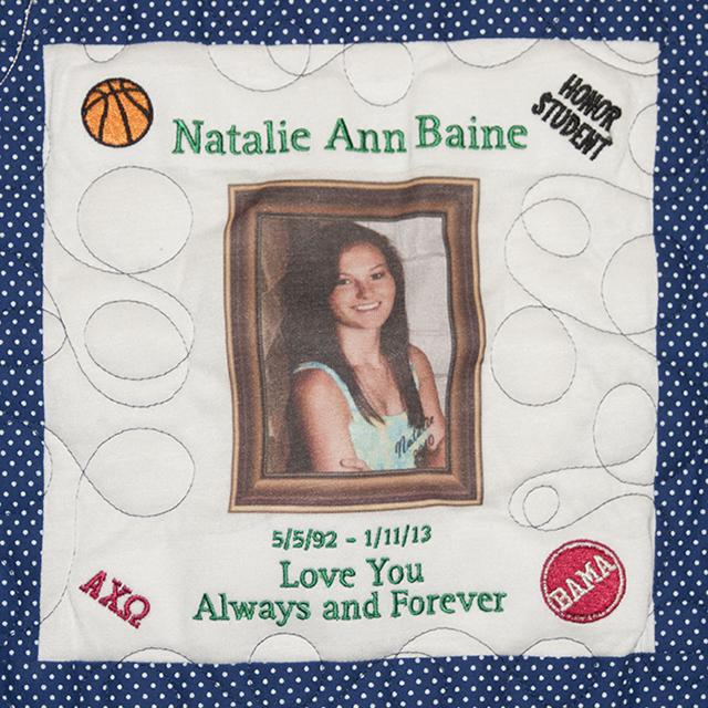 Baine, Natalie Ann