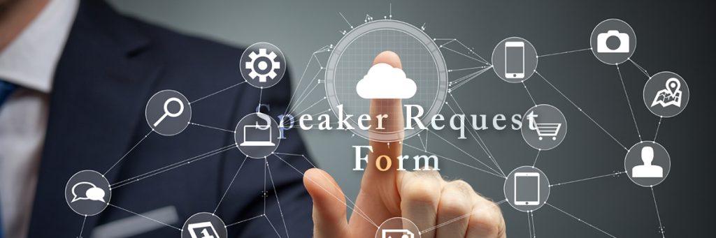 Speaker Request Form logo