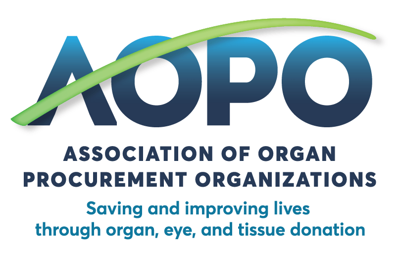 Association of Organ Procurment Organizations logo